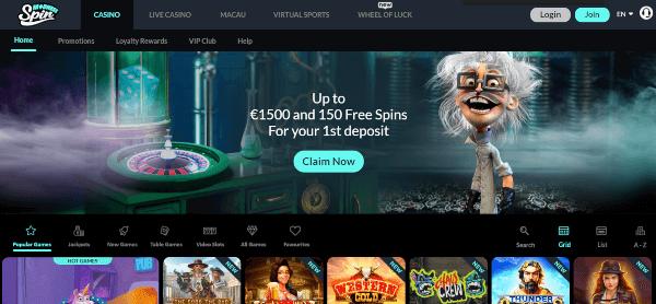Spin madness casino
